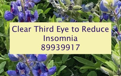 Clear the Third Eye to Reduce Insomnia