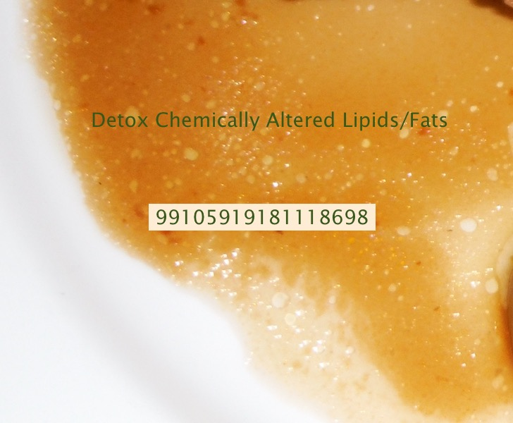 Detoxification Number for Chemically Altered Fats/Lipids