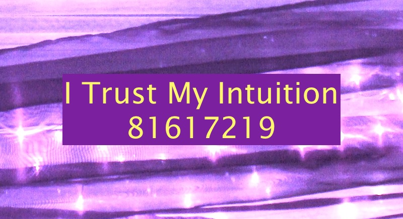 I Trust My Intuition